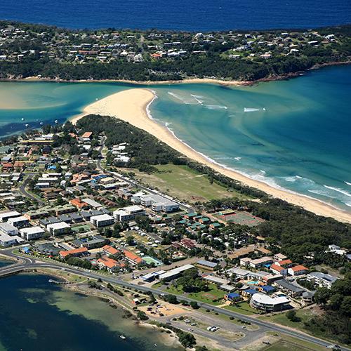 Main Beach, Ocean Drive, Merimbula.