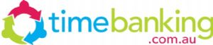 Logo and link to Time Banking website.