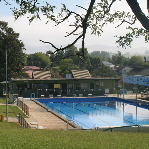Local swimming pools