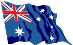 Image of the Australian flag.