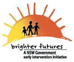 Brighter futures logo.