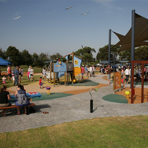 Ford Park, Merimbula an all inclusive playground.