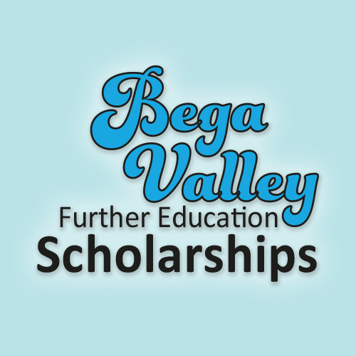 Link to Bega Valley Further Education Scholarships.