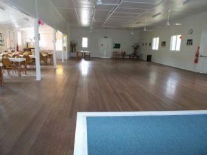 Inside of Brogo hall.