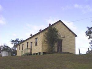 Wandella Hall, side view.