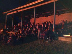 Old Bega Racecours stadium.