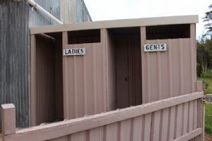Toilet blocks at Tarraganda Hall.