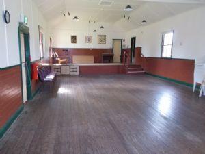 Inside of Wandella Hall.