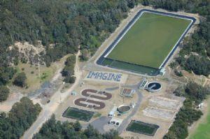 The Tathra Community Solar Farm at the Tathra Sewerage Treatment Plant.