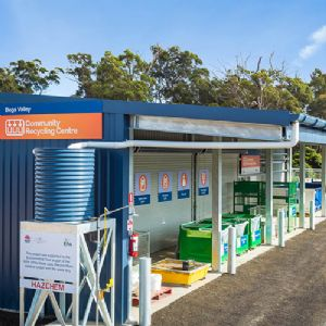 Household problem waste drop off facility, Merimbula Waste & Recycling Depot