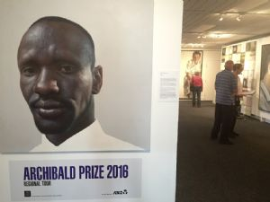 The Archibald Prize Regional Tour is running now at the Bega Valley Regional Gallery.