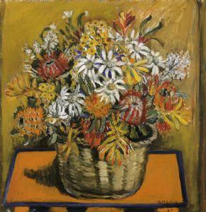 Margaret Preston, National Emblems 1954, oil on canvas, 50 x 60cm Collection AGNSW