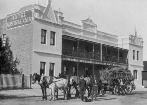 The former Hotel Australasia in Eden.