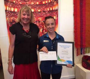 IWD Scholarship winner, Jenny Walker.