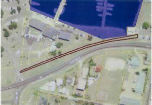 Plan of the new Bermagui Cycleway.