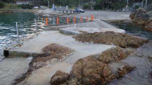 Kianinny Bay, before improvement works begin.