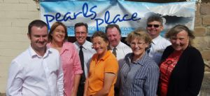 Bega Valley ClubsGRANT committee members recently met with two recipients of Clubs GRANTs in 2015, Reaching Out Foundation and the Bega Valley Suicide Prevention Action Network. From left: Grant Taylor, Tathra Beach Bowling Club, Anne Cleverley, Bega Valley Shire Council, Damien Foley, Club Sapphire Merimbula, Tracey Escreet Bega Valley  SPAN,, John Hurst, Eden Fishermen�s Recreation Club, Louise Maud, Reaching Out Foundation, Michael Mutsch, Merimbula RSL and Liz Seckold, Bega Valley SPAN.