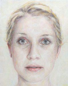Sally Robinson�s portrait, �Ella Rubeli�