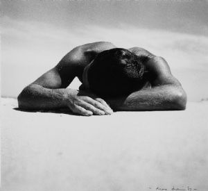 Max Dupain, Sunbaker 1937. Silver gelatin photograph printed 1987. ANMM Collection.
