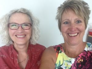 Hilary Peterson and Kerryn Grainger, Course Coordinators from South Coast Careers College/Adult Ed, now based in the Bega Valley Regional Learning Centre.