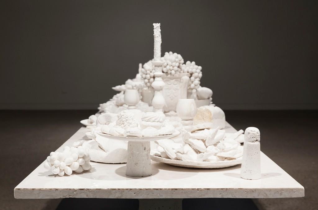 The Last Supper (detail), by Ken + Julia Yonetani.