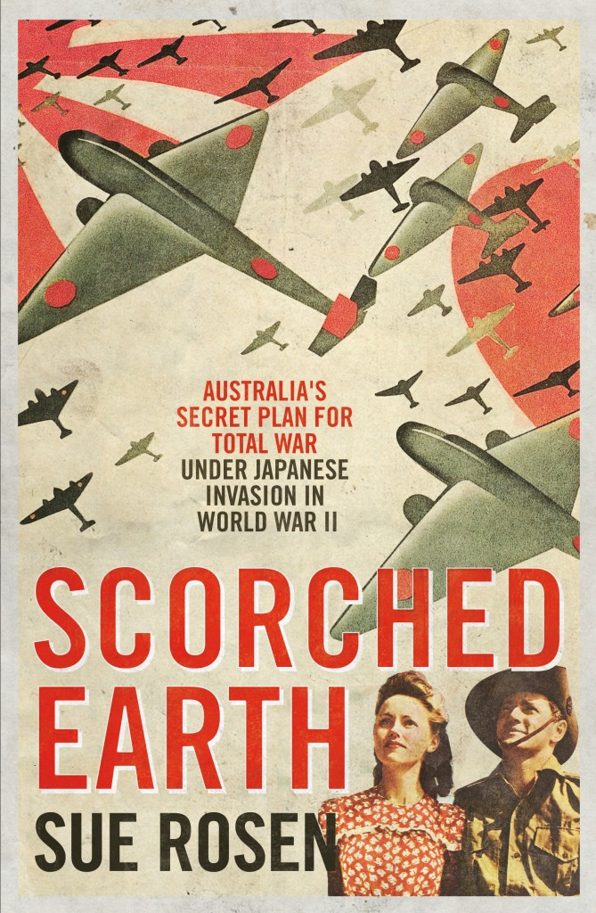 Scorched earth cover.