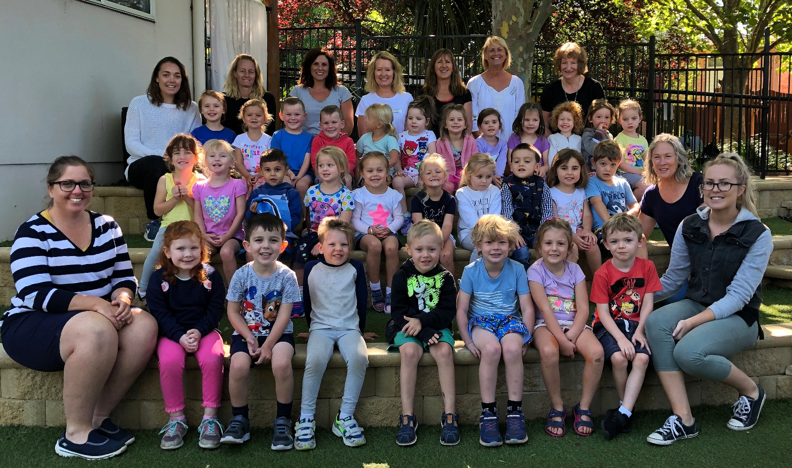 The Bega Preschool's Thursday Magpies and Tadpoles classes are looking forward to an exciting year ahead.