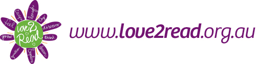 Love 2 read logo and link.