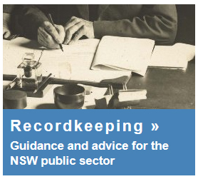 Link to State Records recordkeeping.