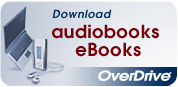 Link to OverDrive for downloading audio and e books.