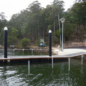 After image of Wonboyn boat ramp.