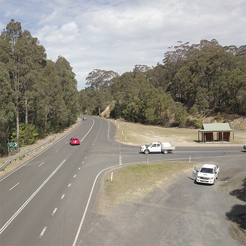 The intersection of Wallaga Lake Road and Cobargo-Bermagui Road will be upgraded this financial year.