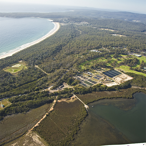 Merimbula Sewage Treatment Plant (STP) Upgrade and Ocean Outfall project information sessions are being held in Merimbula this weekend.