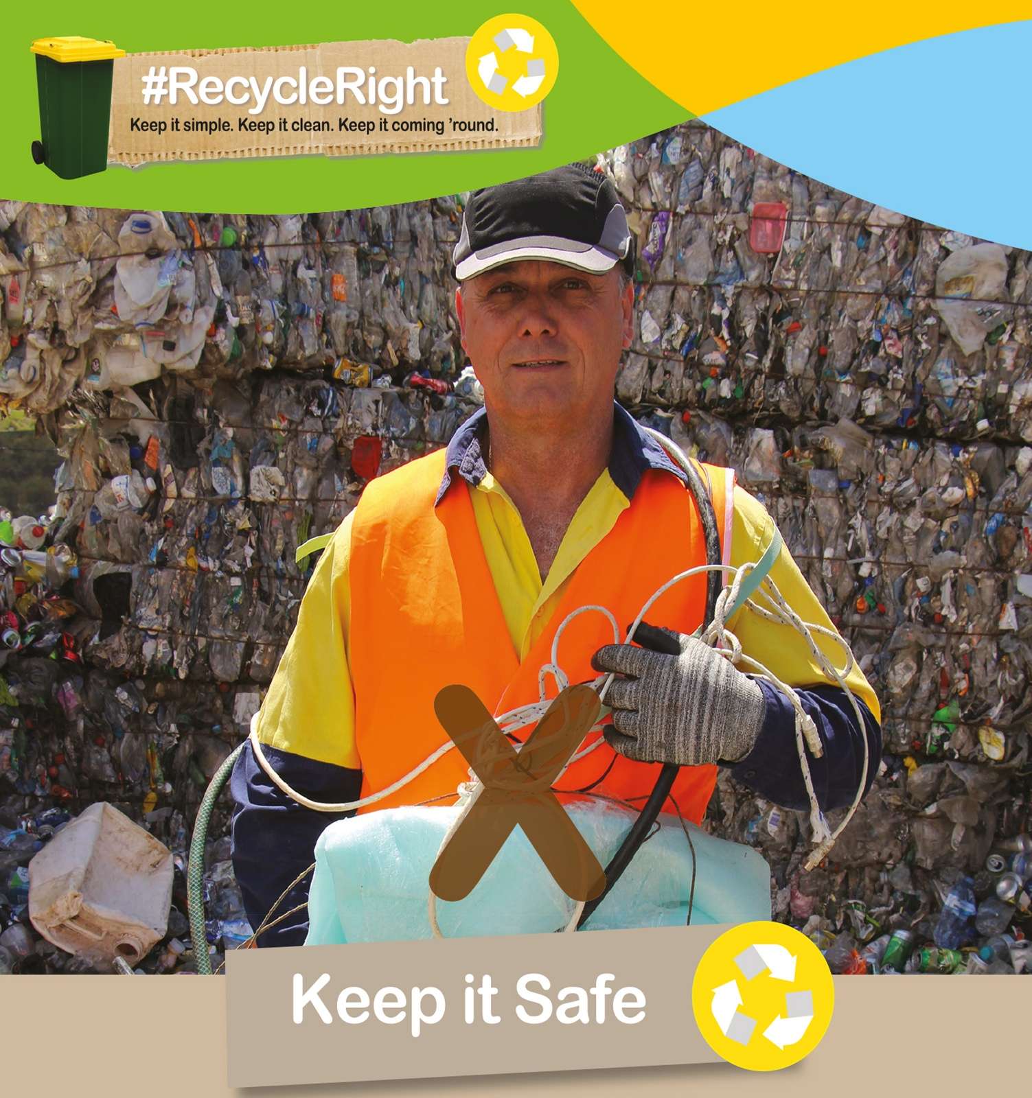 Recycle Right to reduce landfill