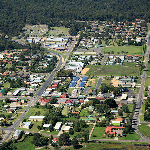 Pambula central business district.