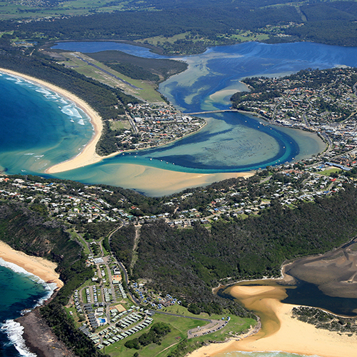 The Development Application for the proposed extension to the Merimbula Airport runway, including a comprehensive Environmental Impact Statement (EIS), is on public exhibition.