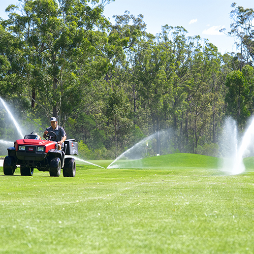 Pambula-Merimbula Golf Course reuse program.