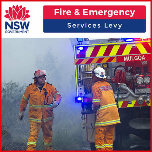 Link to the Fire and Emergency Services Levy informaiton.