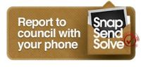 SnapSendSolve -Report to council with your iPhone or Android smartphone