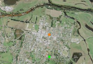 Map show the location of Bega's main welands. Click the image to view a pdf of this image.