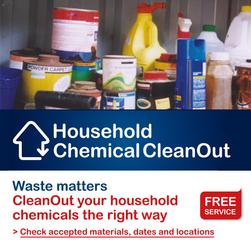Household Chemical Clean Out information.