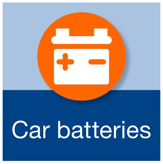 Car batteries.