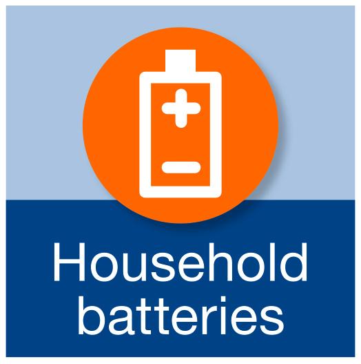 Household batteries.