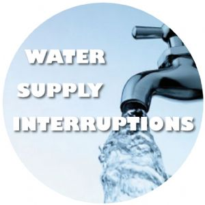 Link to water supply interruptions.